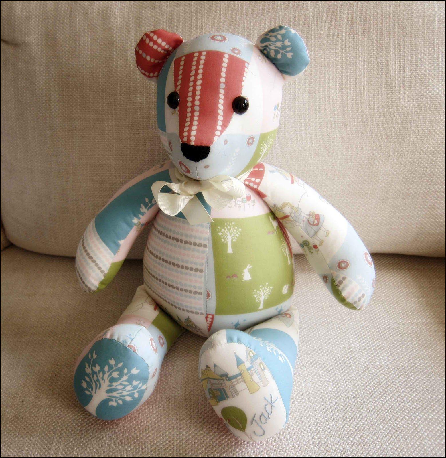 Memory Bear Pattern Free   Emily   Teddy Bear Sewing Pattern, Teddy - Free Teddy Bear Patterns Printable