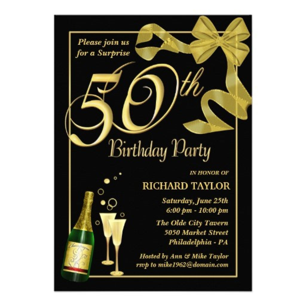 Men · 50Th Birthday Invitations For Him    Vegetables In 2019 - Free Printable Birthday Invitations For Him