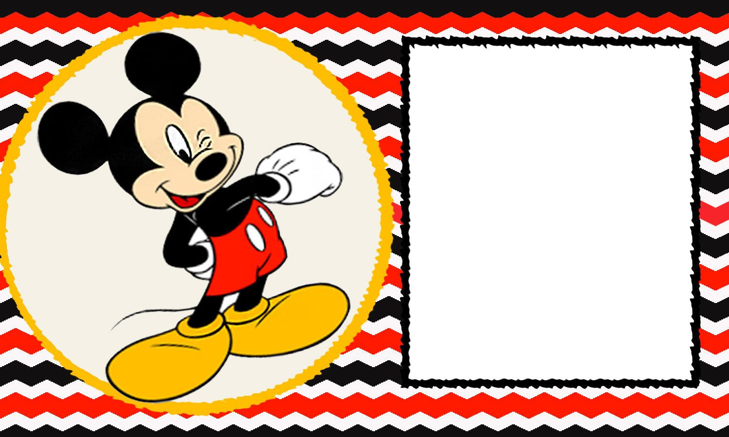 Mickey Mouse 1St Birthday   Desserts Cookies   Pinterest   Mickey - Free Printable Mickey Mouse Template