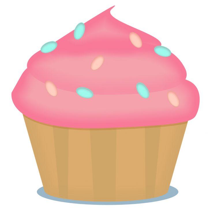 Free Printable Cupcake Clipart