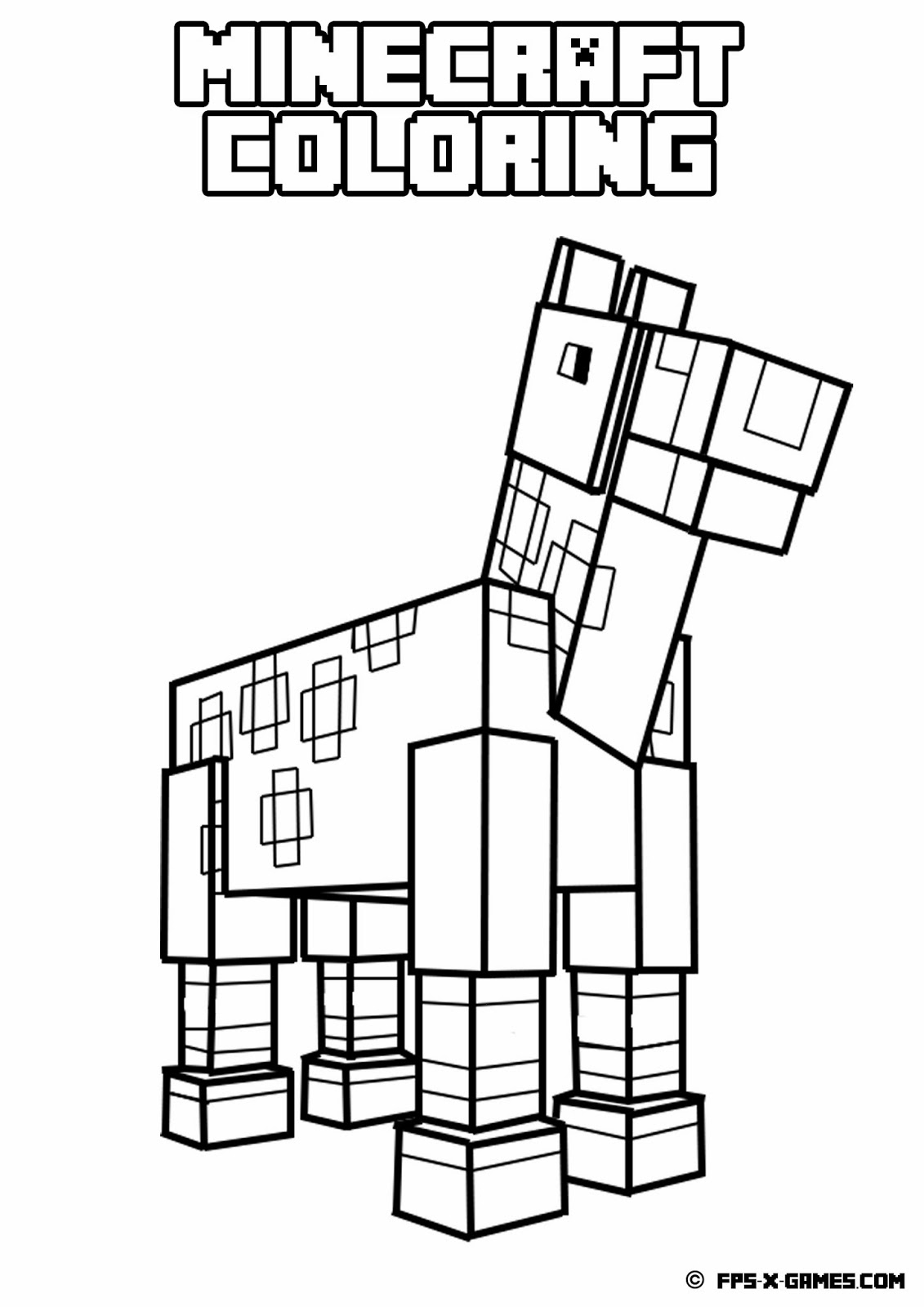 Minecraft Coloring Pages Printable Home 1131×1600 Attachment - Free Printable Minecraft Activity Pages