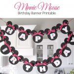 Minnie Mouse Free Printables | Sugar Fresh: Lily's Minnie Mouse   Free Printable Mickey Mouse Birthday Banner