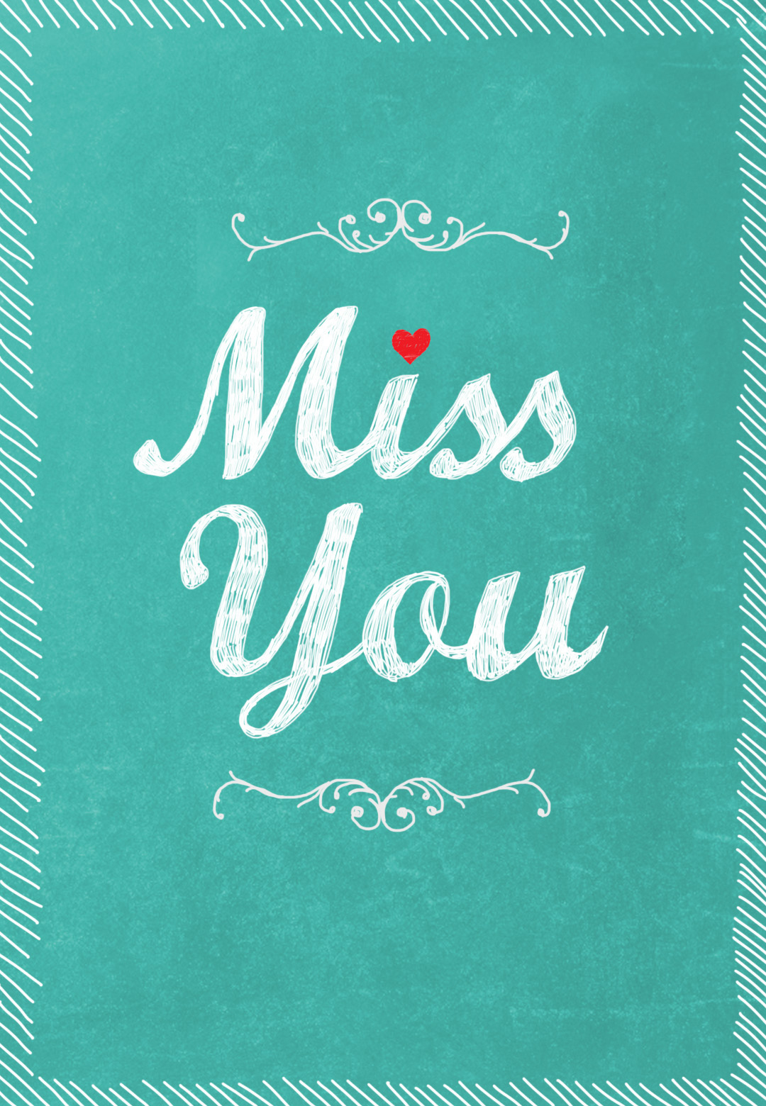 Miss You - Free Miss You Card | Greetings Island - Free Printable We Will Miss You Greeting Cards