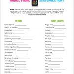 Mobile Phone Scavenger Hunt   Free Printable | A Fierce Flourishing   Free Printable Group Games