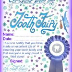 Modern Tooth Fairy Certificates | Rooftop Post Printables   Free Printable Tooth Fairy Certificate