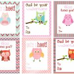 Mommy Hints: 7 Free Printable Valentine's Day Cards For Kids To Take   Free Printable Valentines Day Cards Kids