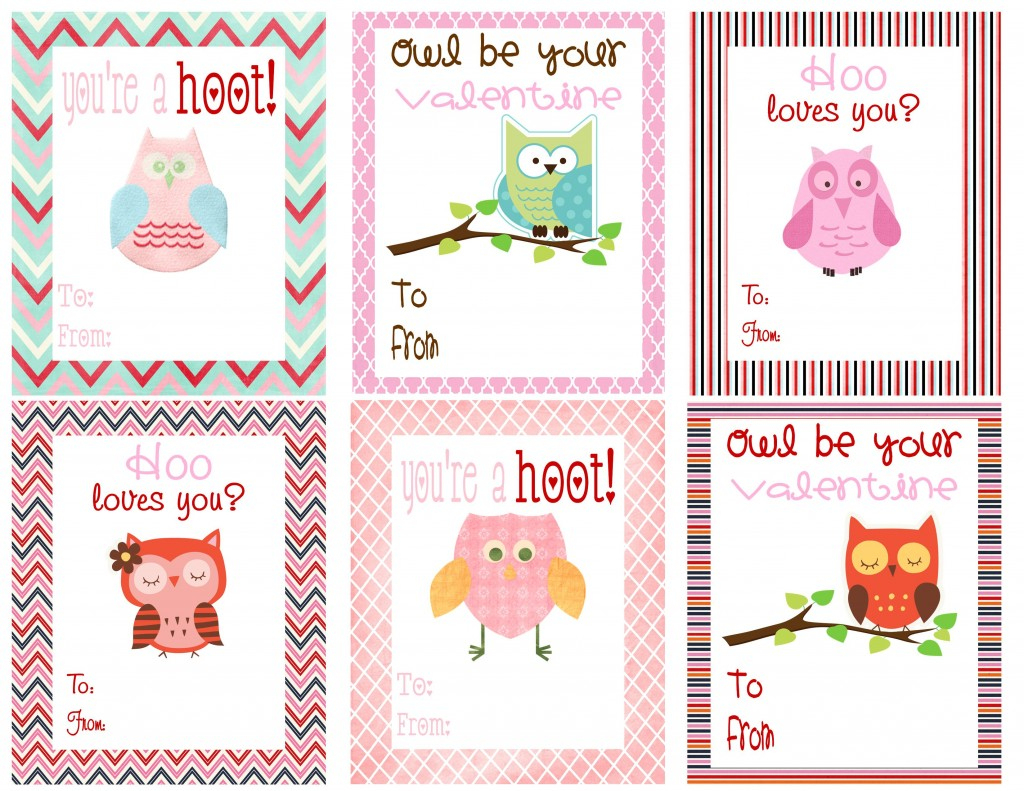 Mommy Hints: 7 Free Printable Valentine's Day Cards For Kids To Take - Free Printable Valentines Day Cards Kids