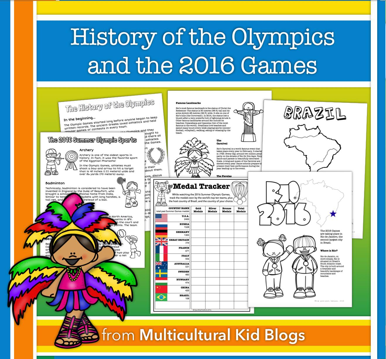 Mommy Maestra: Comprehensive Summer Games Unit & Free Printable - Free Printable Summer Games