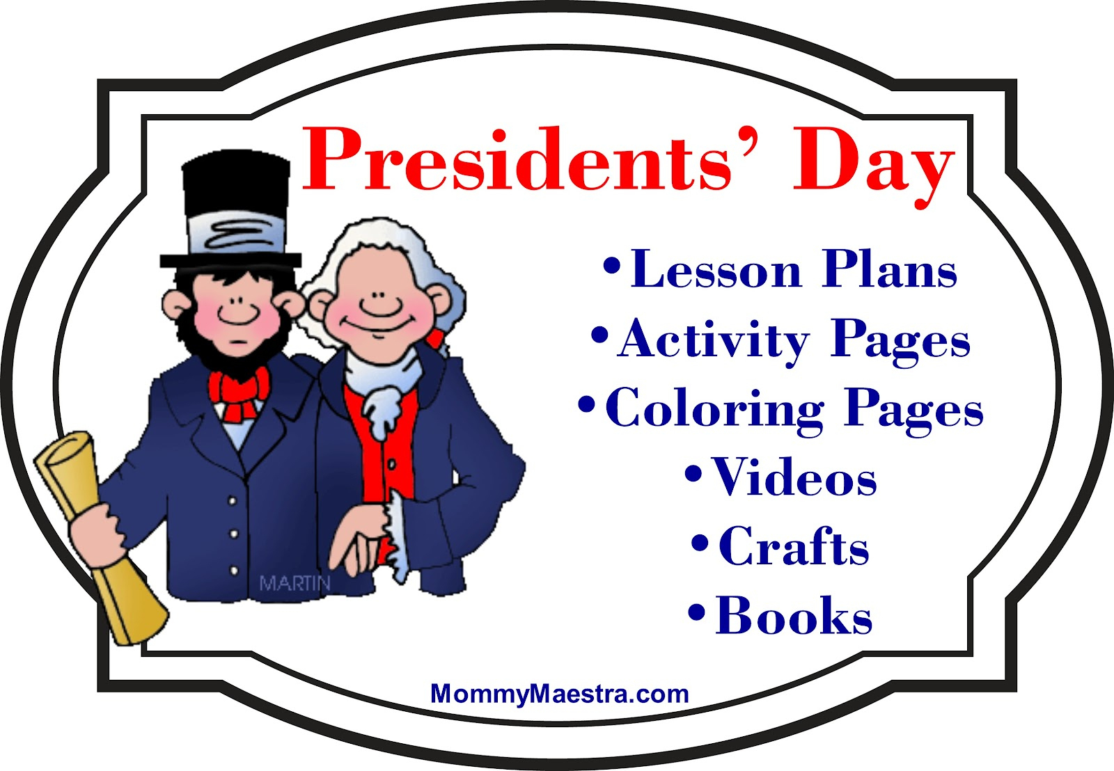 Mommy Maestra: Presidents' Day Activities, Coloring Pages, Books And - Free Printable Presidents Day Worksheets