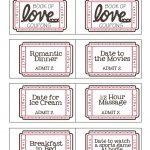 Mommyday Crafternight: {Free Printable} Valentine Coupon   Free Printable Homemade Coupon Book