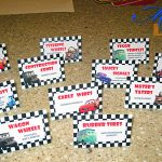 Mommy's Modern Life: How To: Car Themed Birthday Party On A Budget   Free Printable Cars Food Labels