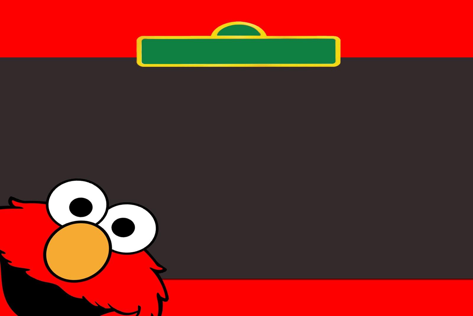 Moms Kiddie Party Link: Freebie: Sesame Street, Elmo And Cookie - Free Printable Cookie Monster Birthday Invitations