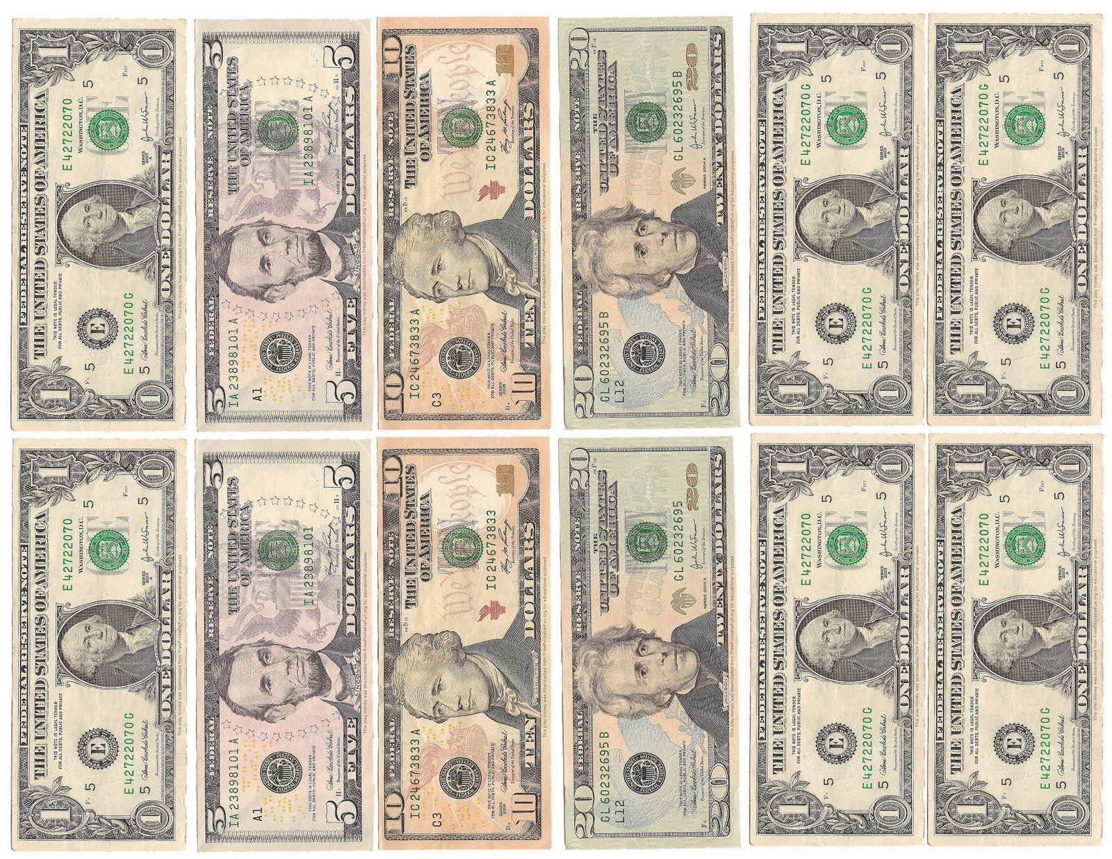 Money Money Money!   Kid's Room   Pinterest   Printable Play Money - Free Printable Fake Money That Looks Real