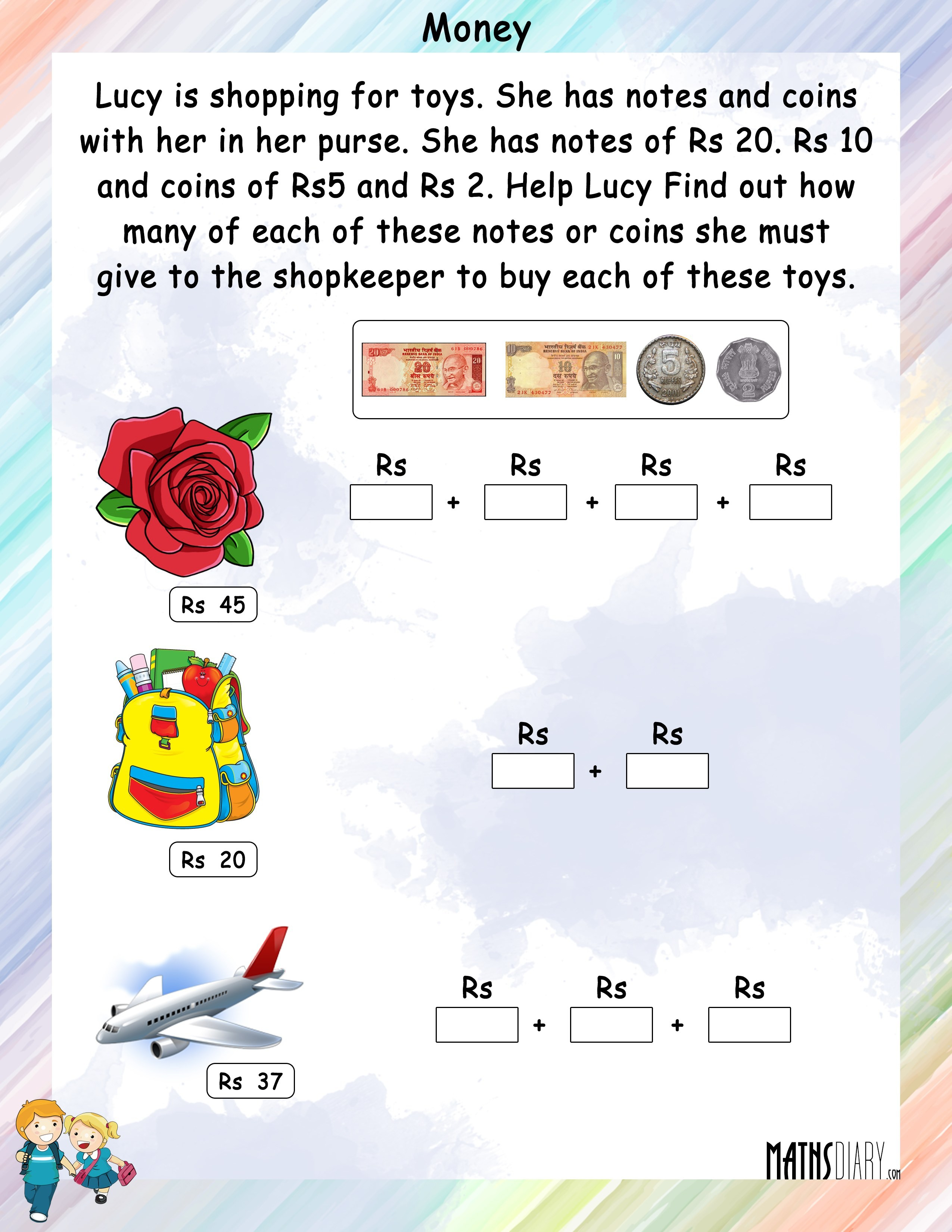 Money Worksheets For 2Nd Grade Planning Playtime Free Printable - Free Printable Australian Notes