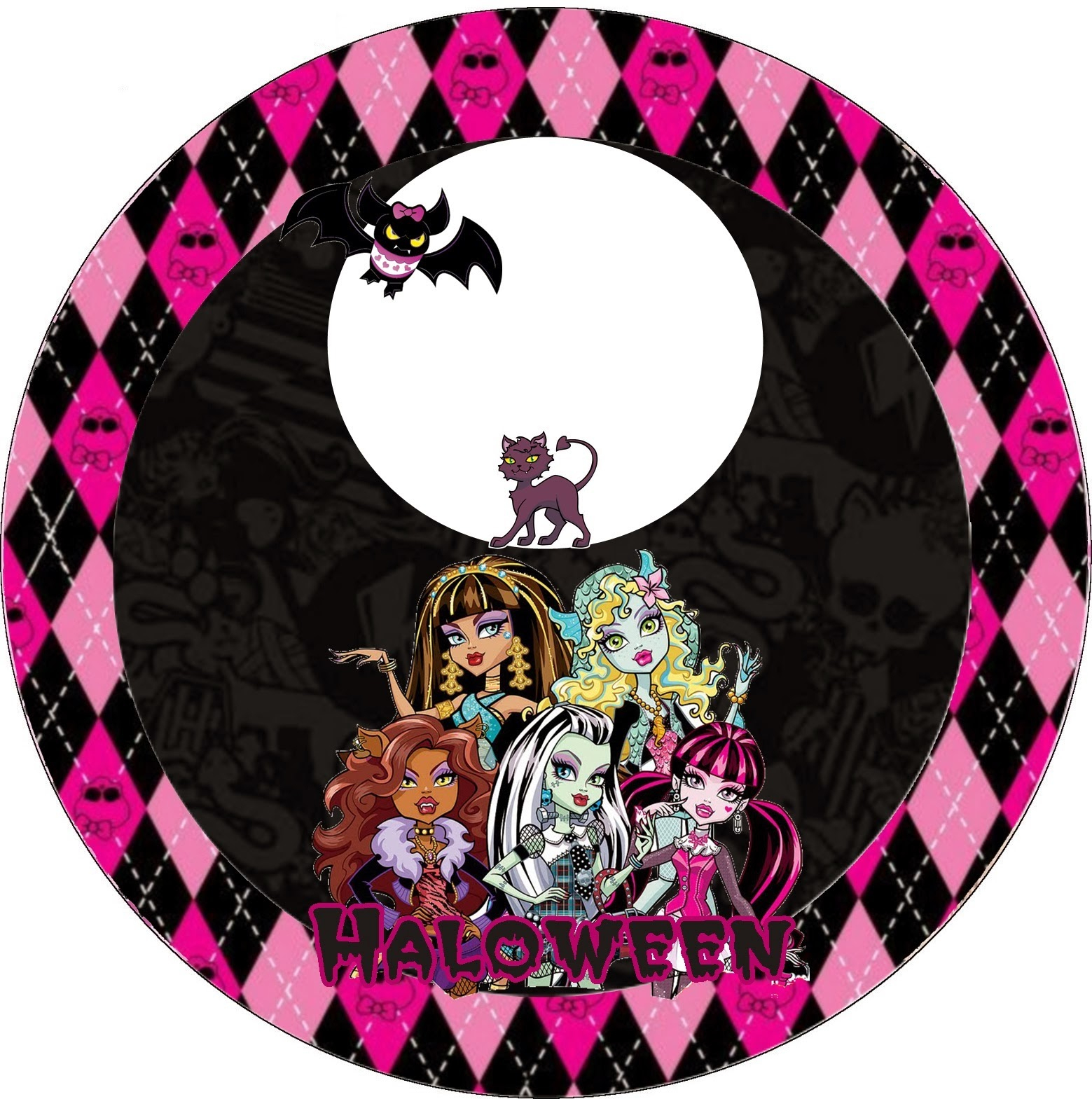 Monster High Halloween Special Free Printable Kit. | Oh My Fiesta - Free Printable Monster High Stickers