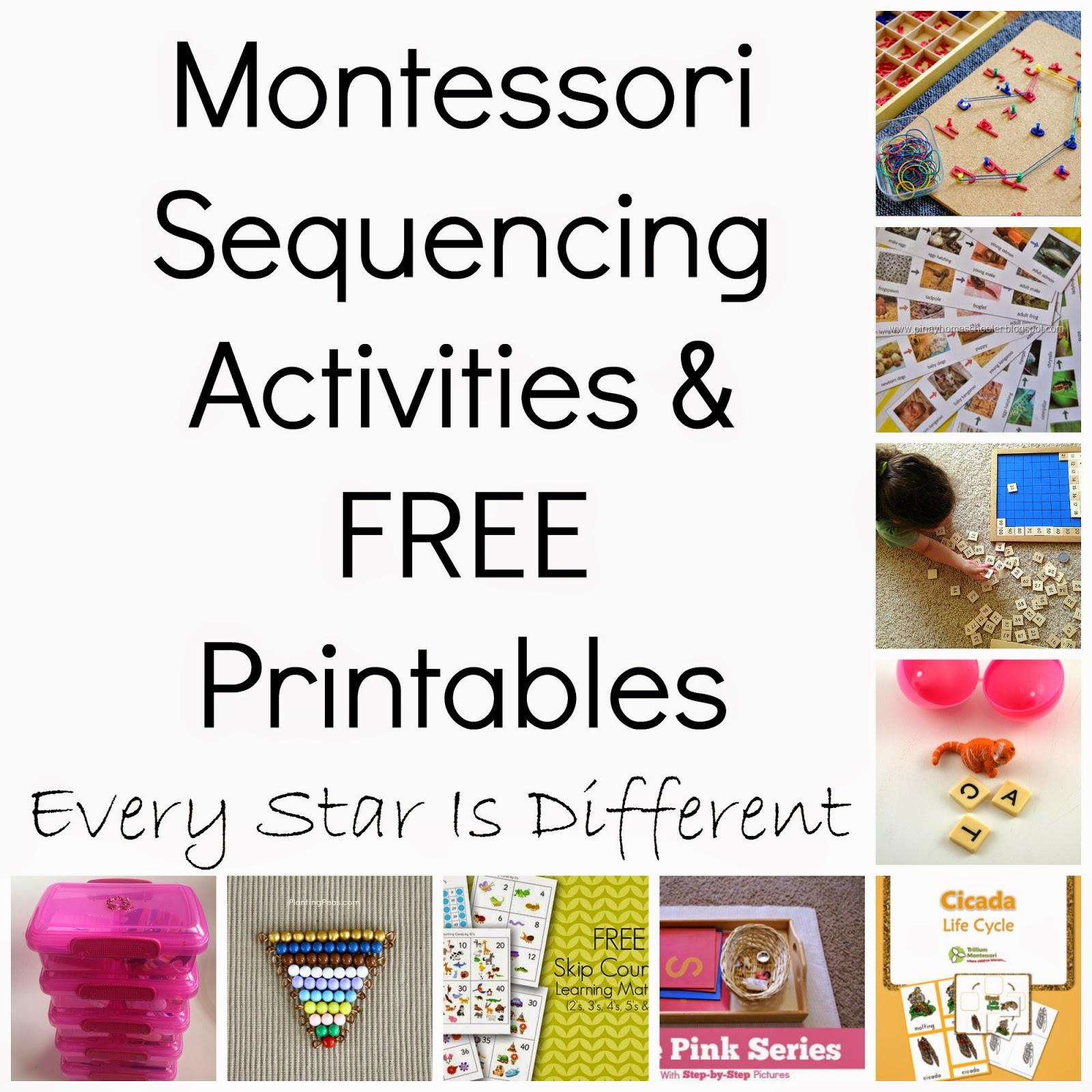 Montessori-Inspired Sequencing Activities & Free Printables (Klp - Free Printable Sequencing Cards For Preschool