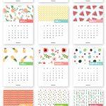 Monthly Printable Calendar 2017 | 圖樣 | Pinterest | Calendar   Free Cute Printable Planner 2017
