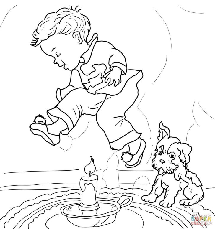 Mother Goose Coloring Pages Free Printable