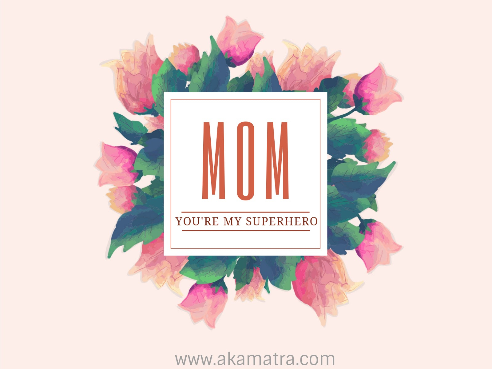 Mother's Day Cards - Free Printable - Akamatra - Free Printable Mothers Day Cards To My Wife