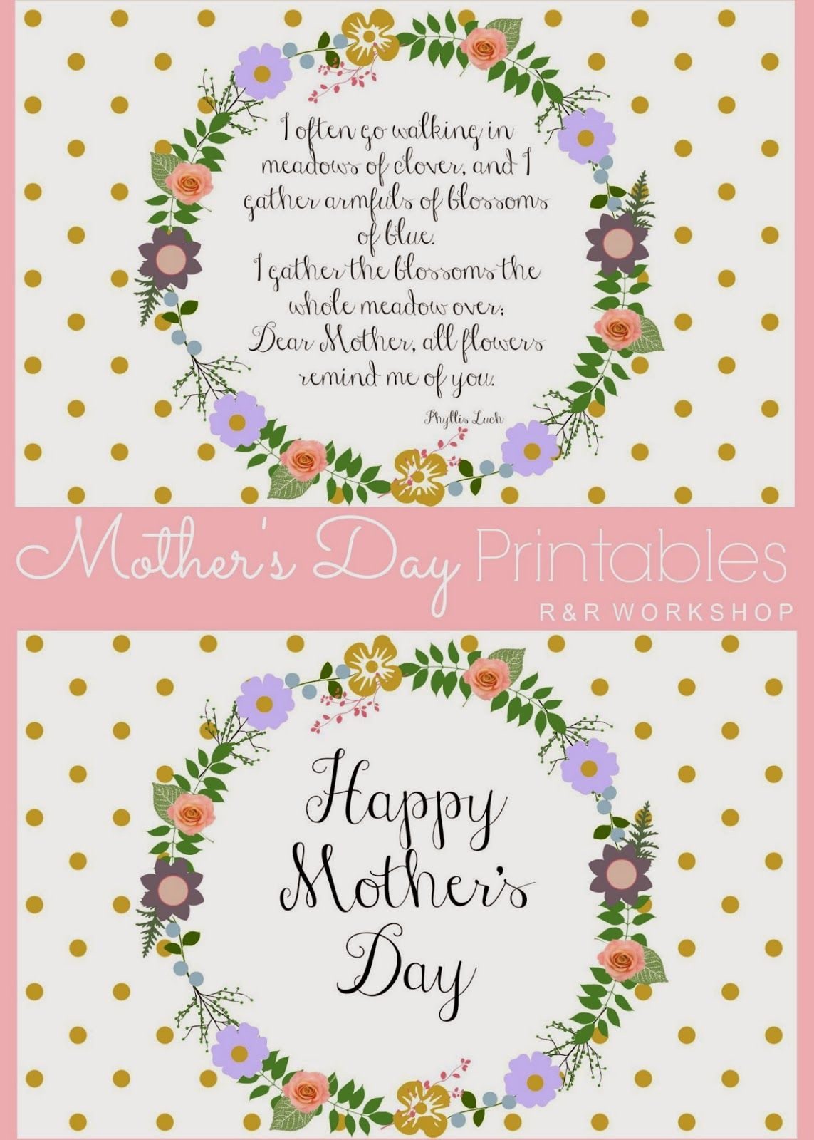 Mother's Day Poem And Free Printables   Live It. Love It. Lds - Free Printable Mothers Day Poems