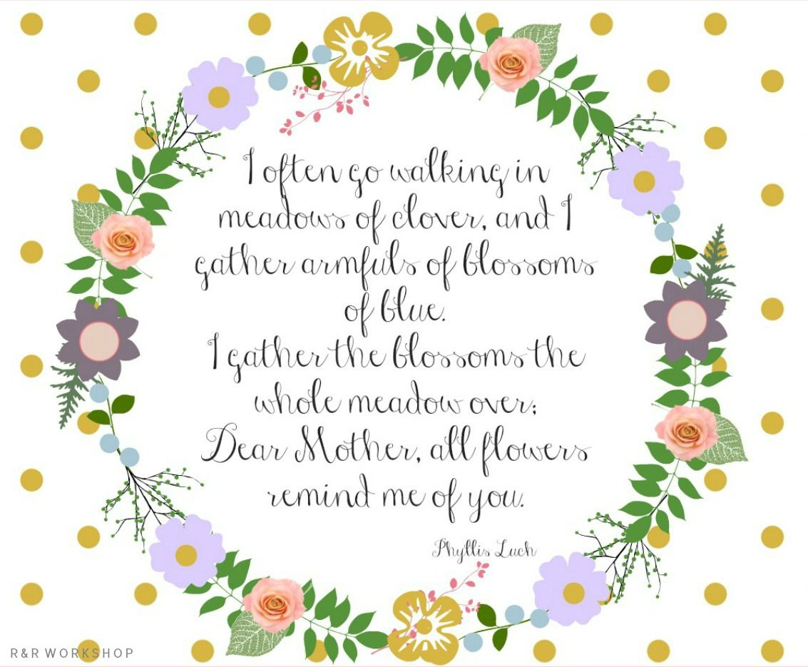 Mother's Day Poem And Free Printables   Make N Take   Pinterest - Free Printable Mothers Day Poems