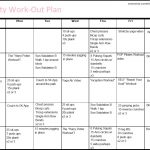 Mrs. Twenty Something: A Workout Plan With Substance   Free Printable Gym Workout Plans