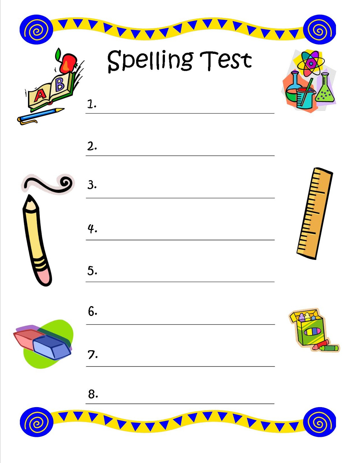 Multiple Choice Spelling Test Template - Iranport.pw - Free Printable Multiple Choice Spelling Test Maker