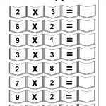 Multiplication – 5 Worksheets / Free Printable Worksheets – Worksheetfun   Free Printable Multiplication Sheets