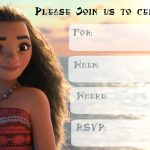 Musings Of An Average Mom: Free Printable Moana Invitations 2   Free Moana Printable Invitations