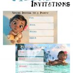 Musings Of An Average Mom: Free Printable Moana Invitations   Free Moana Printable Invitations