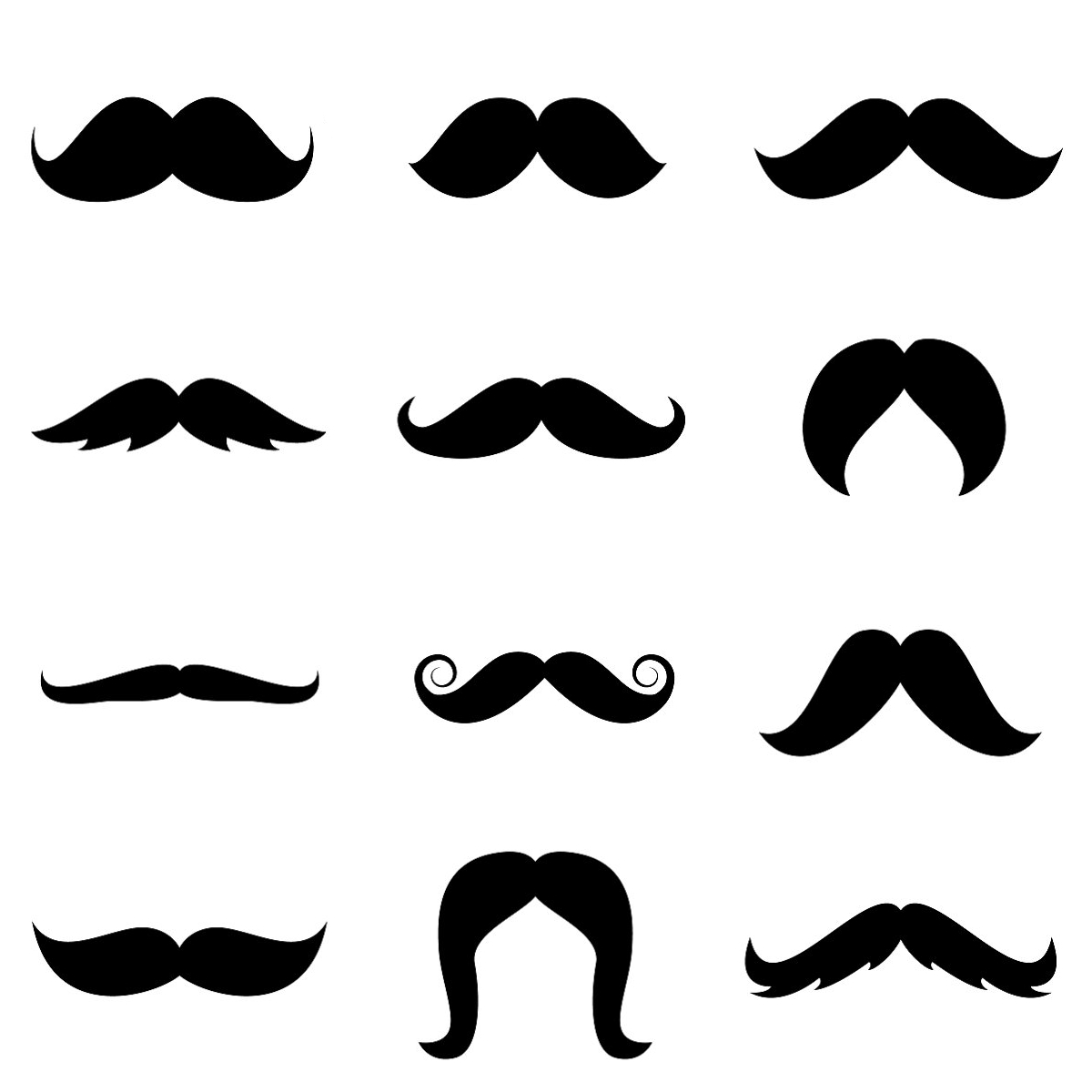 Mustache Template Free Printable   Stenciled Drop Cloth Pillow - Free Printable Mustache