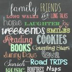 My Favorite Free Chalkboard Fonts + A Free Printable | Top Pins From   Free Printable Fonts