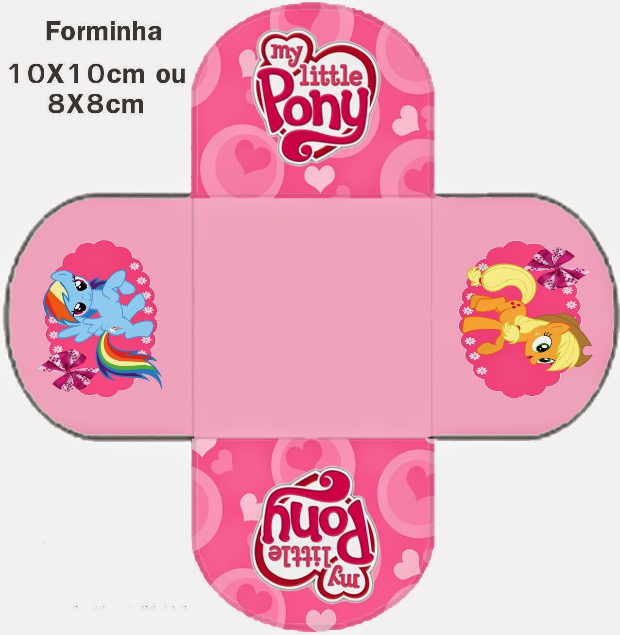 My Little Pony Free Printable Kit. - Oh My Fiesta! For Geeks - Free Printable My Little Pony Cupcake Toppers