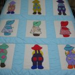 My Mother's Dutch Boy And Girl Quilt Blocks That She Made In Her   Free Printable Dutch Girl Quilt Pattern