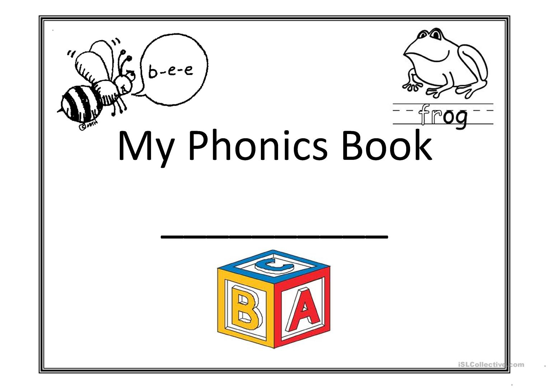 My Phonics Book Worksheet - Free Esl Printable Worksheets Made - Free Printable Phonics Books