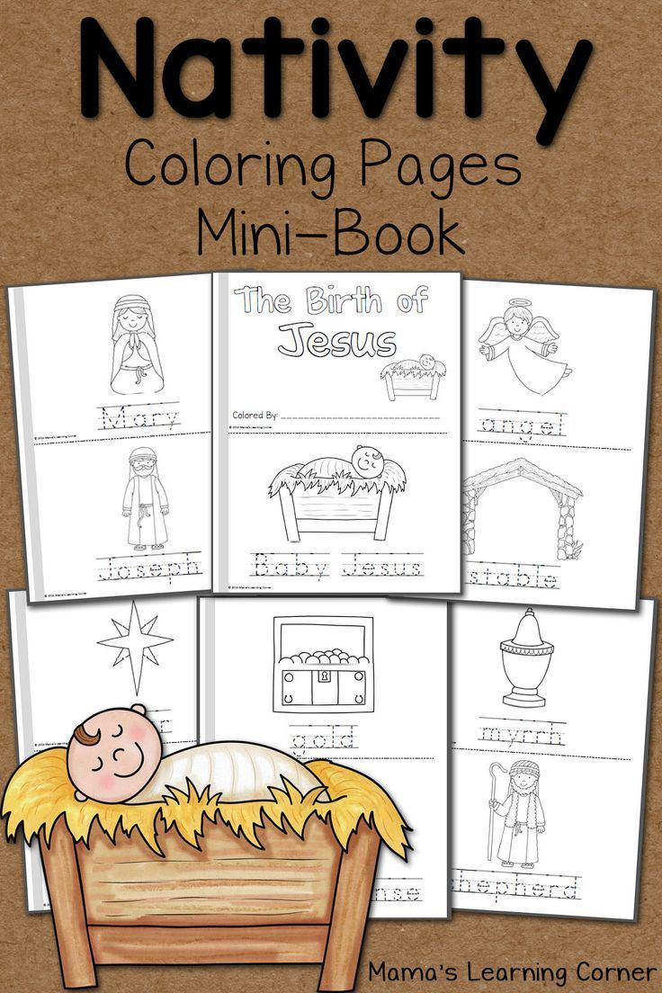 Nativity Coloring Pages | Free Homeschool Printables And Worksheets - Free Printable Christmas Story Coloring Pages