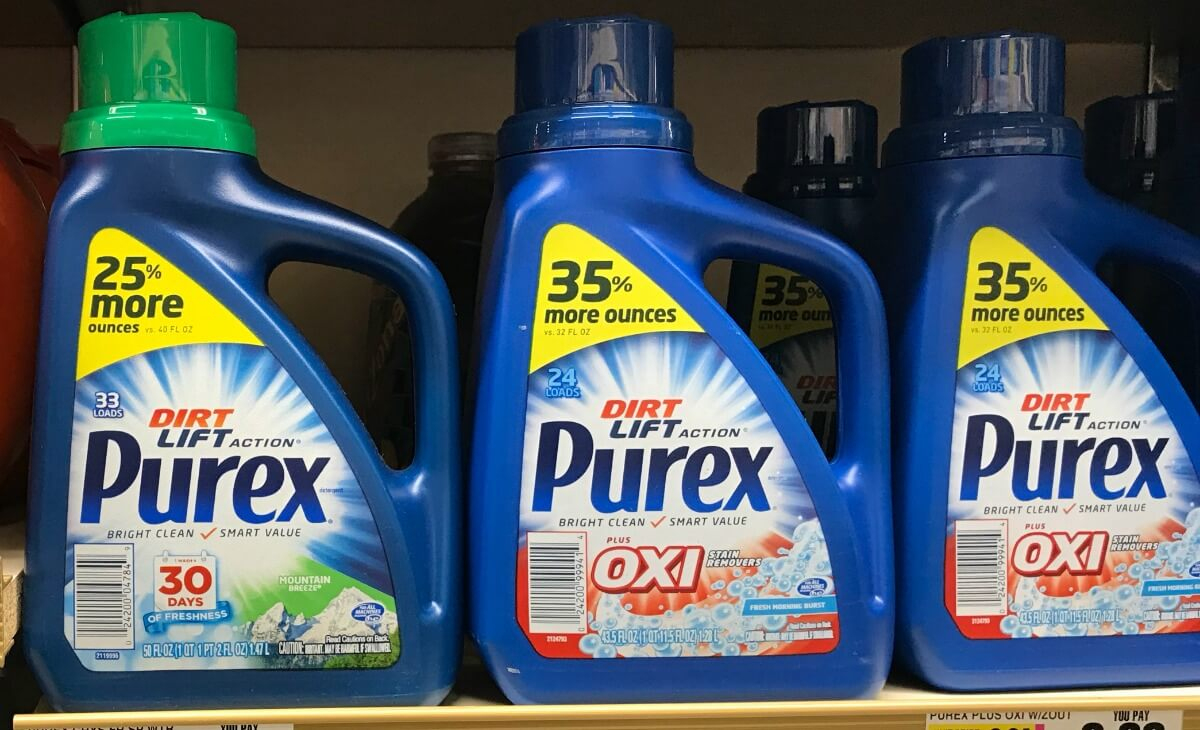 New $1/1 Purex Laudry Detergent Coupon - Free At Shoprite & More - Free Detergent Coupons Printable