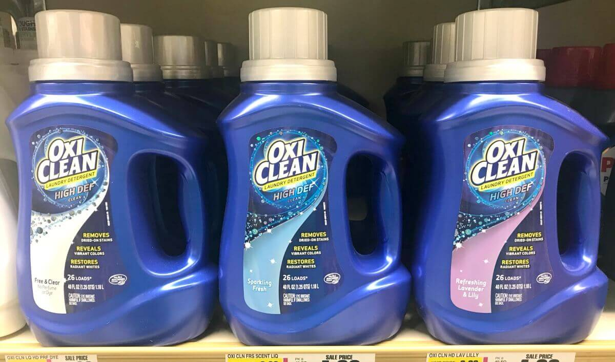 New $2/1 Oxiclean Laundry Detergent Coupon - $1 Money Maker At - Free All Detergent Printable Coupons