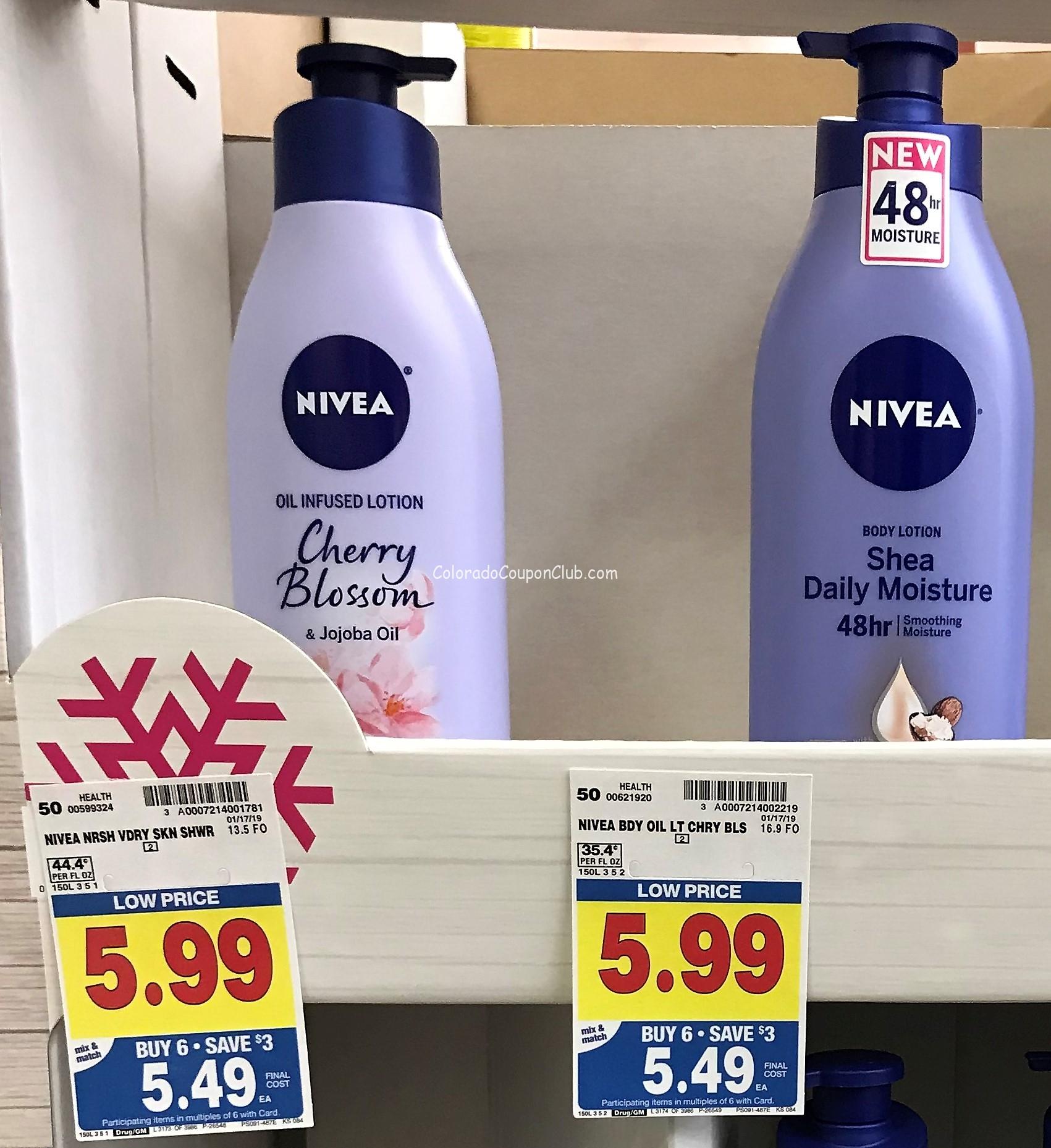 New Coupon! Nivea Body Lotion, Only $3.49 At King Soopers - Free Printable Nivea Coupons