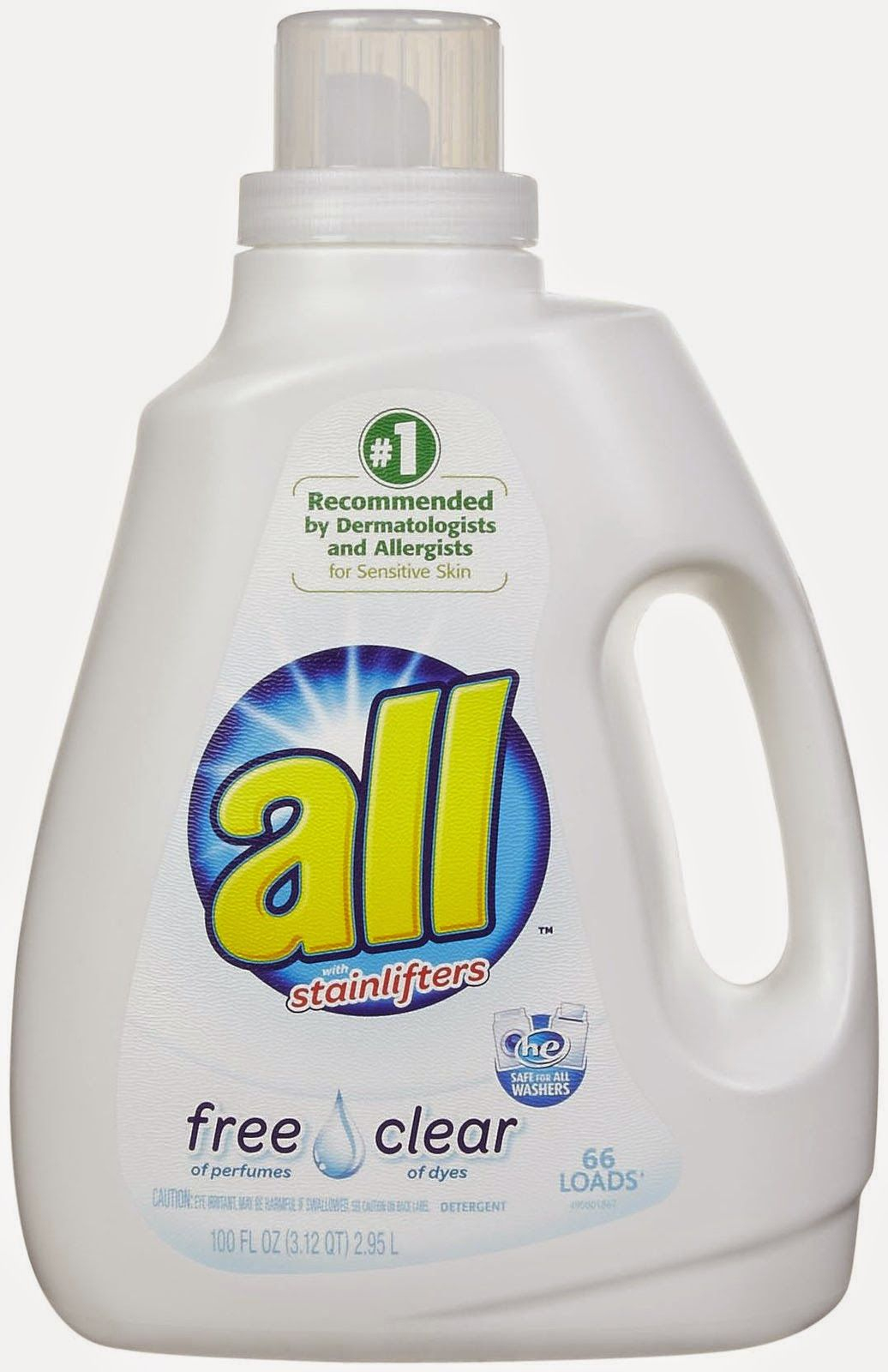 New #coupon ~ Save $1.00/1 All Laundry Detergent | Coupons | Laundry - Free All Detergent Printable Coupons