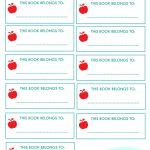 New Project: Back To School Notebook And Book Labels – Free Printable Name Labels For Kids
