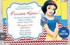 Snow White Invitations Free Printable