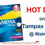 New Tampax Coupon = Hot Deal On Tampax Pearls @ Walmart! Only $2.47!   Free Printable Food Coupons For Walmart
