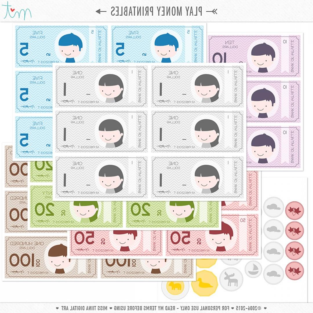 New Vector Saving Up Free Printable Play Money   Soidergi - Free Printable Money