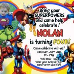 Nice Tips For Choosing Avengers Birthday Invitations Free | Noah's   Avengers Party Invitations Printable Free
