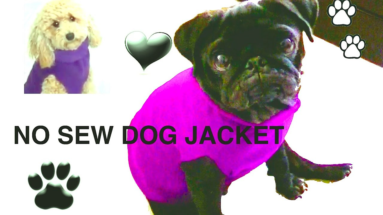 No Sew Dog Jacket - Diy Dog Clothes - A Tutorialcooking For Dogs - Free Printable Sewing Patterns For Dog Clothes
