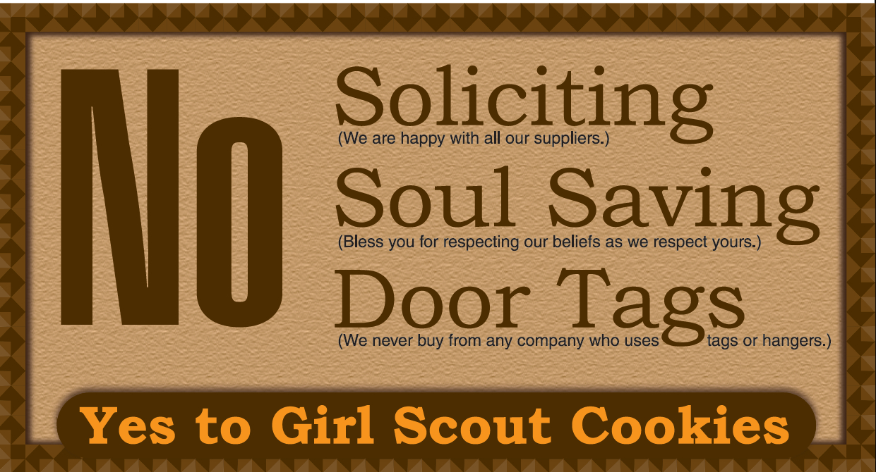 No Soliciting Door Sign Free Printable   Worldlabel Blog - Free Printable No Soliciting Sign