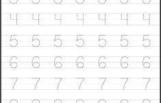 Free Printable Tracing Numbers 1 20 Worksheets