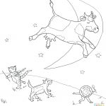 Nursery Rhyme Coloring Pages Hey Diddle Nursery Rhyme Coloring Pages – Free Printable Nursery Rhyme Coloring Pages