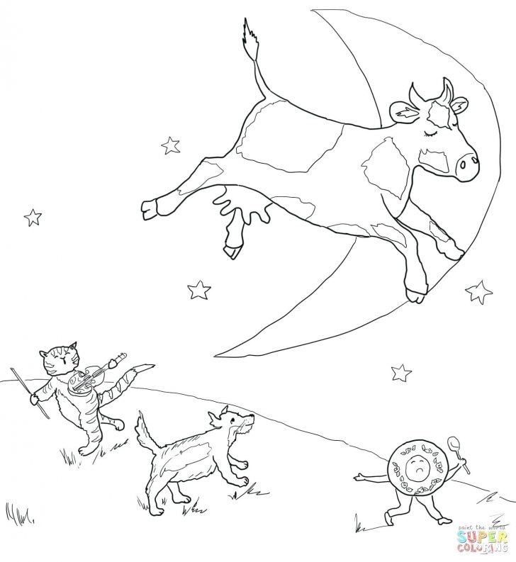 Free Printable Nursery Rhyme Coloring Pages